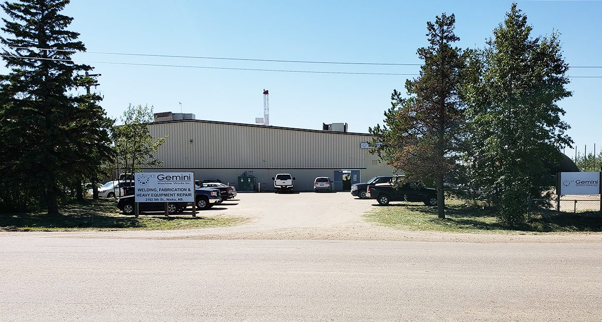 gemini welding fabrication and heavy equipment repair facility