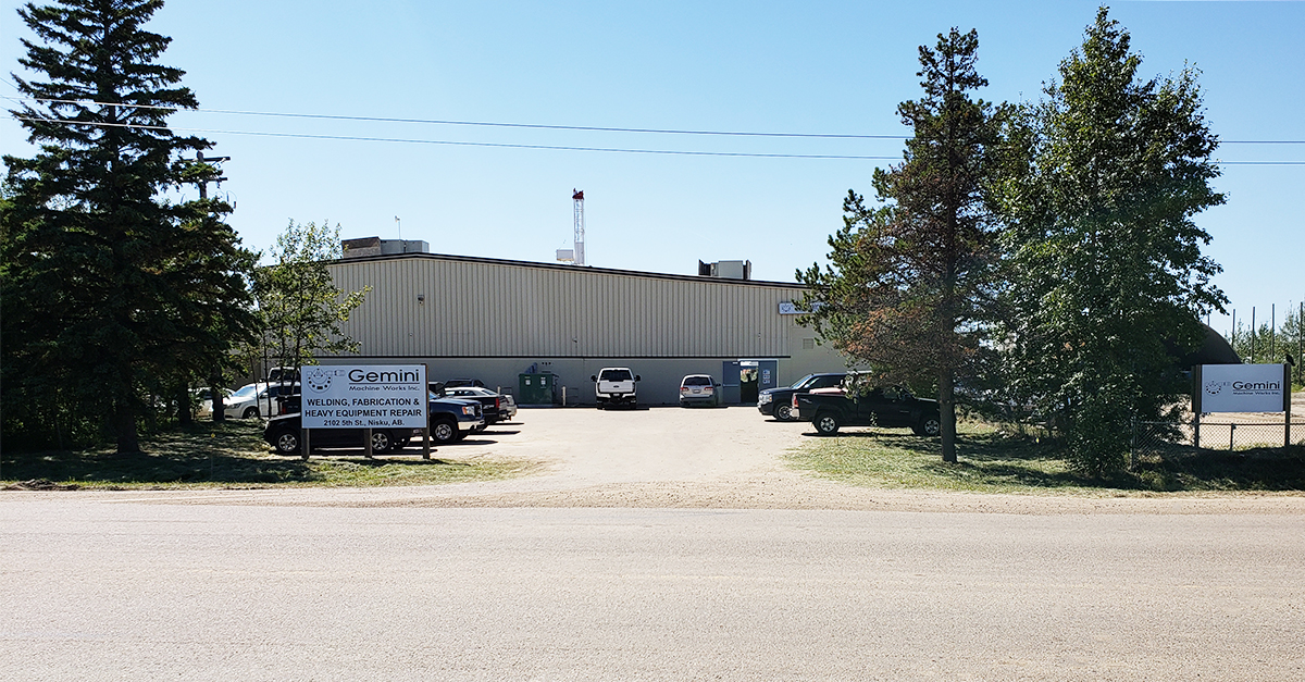 gemini welding fabrication and heavy equipment repair facility