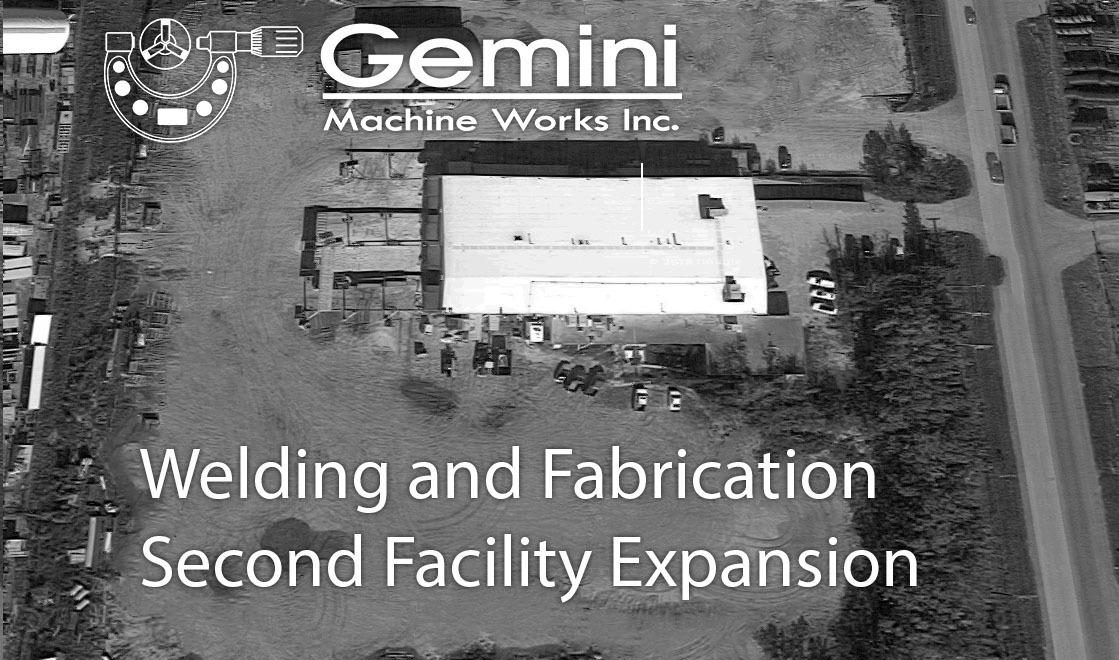 welding, fabrication & heavy equipment repair facility expansion